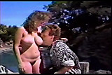 No Sound: Jeanna Fine gives poolside BJ