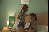 Teen Lay the Kat Lesbian fooling around