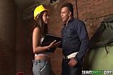 Smalltits Latina babe Laura Arce anal sex