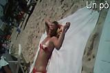 Beach and dildo