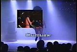 Charmaine Sinclair stripping in a club