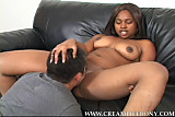 Remy Blaze Moan Loud Creampied her Wet Black Pussy