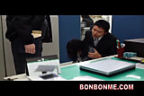 Mosaic; jap busty bank office lady hardcore threesome