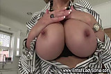 Solo busty Lady Sonia shows off