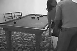 XXX hardcore porn in billiard room