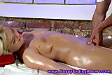 Model wants a massage happy ending from horny masseur
