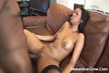 Hot Ebony Screwed By A Big Cock Guy