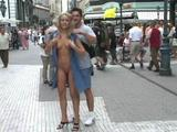 budapest public nude