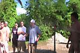 Homo twinks outdoor cocksucking contest