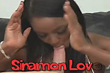 Sinnamon Love - Ebony POV Blowjob