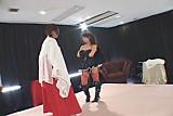 Yuka Oosawa lesbian wrestling 1