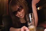 Porn actress who did masturbation in restroom of tavern