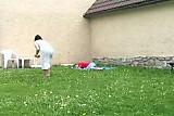 Sexy Plump Women Fucks Boy Outside
