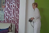 Sexy German Nurse Mom fucks her Home Patient