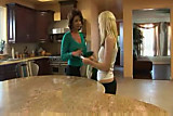 Deauxma and Lena: Mature fucks teen with strap on
