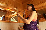 Veronique Pregnant Anal Big Tits