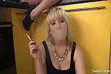 Sexy smoking lesbians