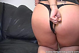 Jerk off babe demos masturbation on her backdoor