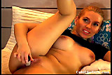 Cam: hot blonde playing with her tits and pussy