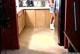 ass hole masturbation brandi in the kitchen
