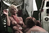 Aunt Peg blonde cumshot
