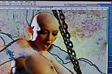 bald girl mastrubate