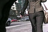 Candid Ass in Pants 03. Hot! ( slow motion)