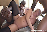 Interracial Sex For Big Ass Blonde2