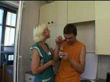 Mature Fucks in Kitchen