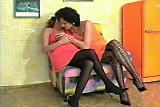 Lesbian pregnat fisting. BDS