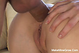 Hot Blonde Sharon Had A Huge Cock On Her Ass