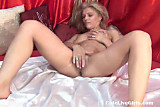 Cam; italian blonde playing with her body 2