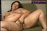 Fat BBW panties insertion