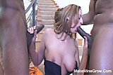 Threesome For Lauren And A Facial Cum