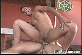 2 White twinks fuck on the table