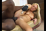 Teen Blonde Enjoy Black Cock