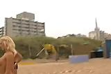 Blonde beach