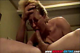 Hot blowjob of mature amateur