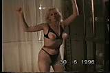 My wife dancing