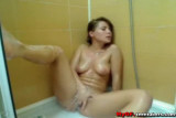 Kelly Semo in Shower