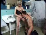 Brandy Scott Transsexual is caught peeing standing