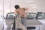Hot Blonde Banged On Jaguar