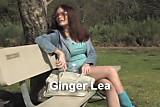 Redhead Ginger Lea tries anal