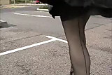 New black seamed stockings from Kev
