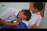 Piss: Skinny Asian SBoys Sucking And Pissing Session