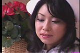 Japanese doctor, nurse and patient in sex therapy
