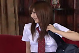 Miku Airi Japanese Cutie With Two Guys