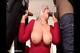 Big Booty White Babe Gets Fucked By 2 Big Black Cocks