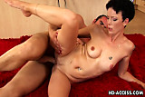 Mature lady fucked hard from behind