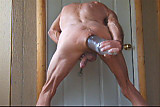 Piss; Extreme Cock and Ass Bottle Fuck and Penis Plug Piss Fun